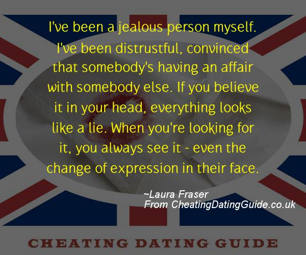 Cheating Quote - Laura Fraser - Cheating Stories quote image