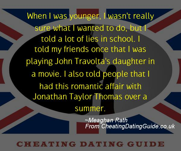 Cheating Quote - Meaghan Rath - Cheating Stories quote image