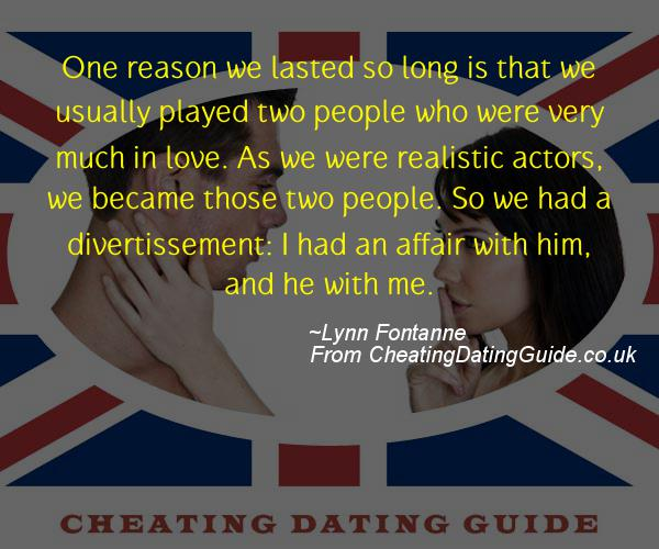 Cheating Quote - Lynn Fontanne - Cheating Stories quote image