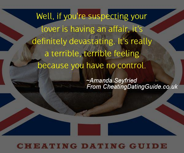 Cheating Quote - Amanda Seyfried - Cheating Stories quote image