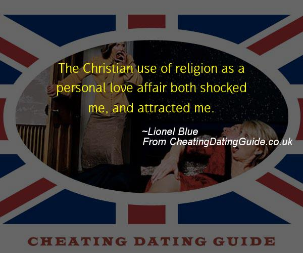 Cheating Quote - Lionel Blue - Cheating Stories quote image