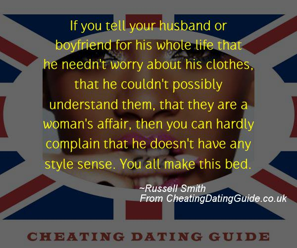 Cheating Quote - Russell Smith - Cheating Stories quote image