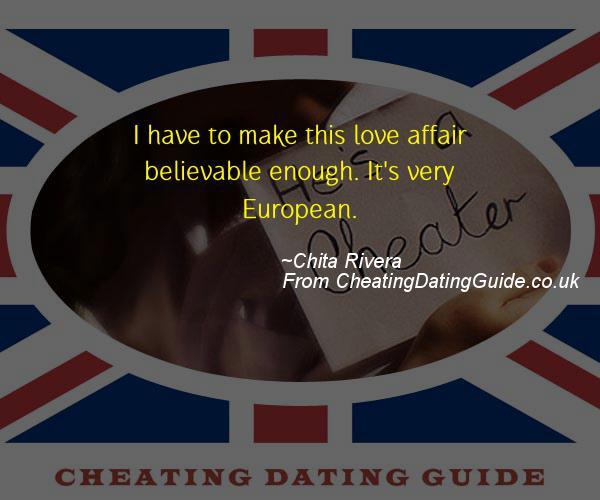 Cheating Quote - Chita Rivera - Cheating Stories quote image