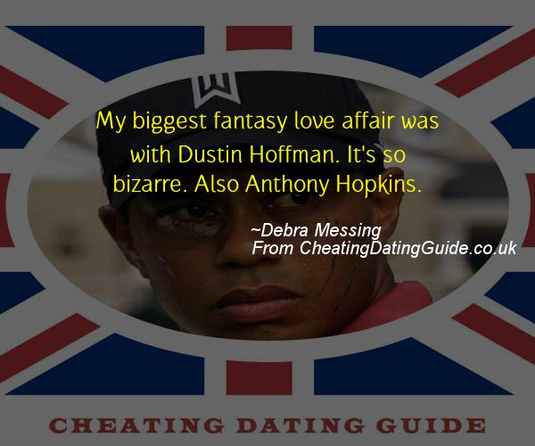 Cheating Quote - Debra Messing - Cheating Stories quote image