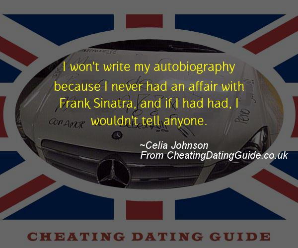 Cheating Quote - Celia Johnson - Cheating Stories quote image