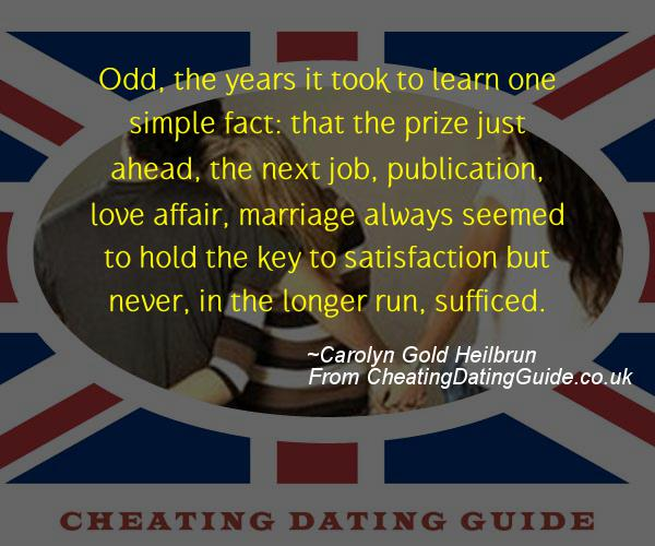 Cheating Quote - Carolyn Gold Heilbrun - Cheating Stories quote image