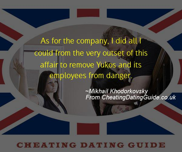 Cheating Quote - Mikhail Khodorkovsky - Cheating Stories quote image