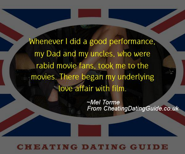 Cheating Quote - Mel Torme - Cheating Stories quote image