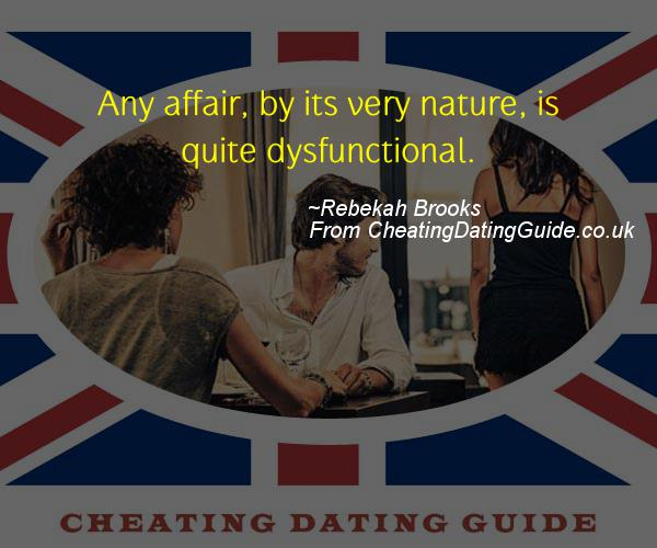 Cheating Quote - Rebekah Brooks - Cheating Stories quote image