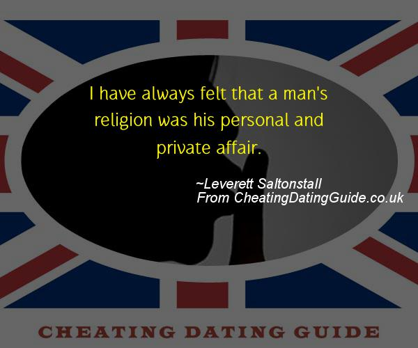 Cheating Quote - Leverett Saltonstall - Cheating Stories quote image