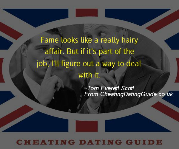 Cheating Quote - Tom Everett Scott - Cheating Stories quote image