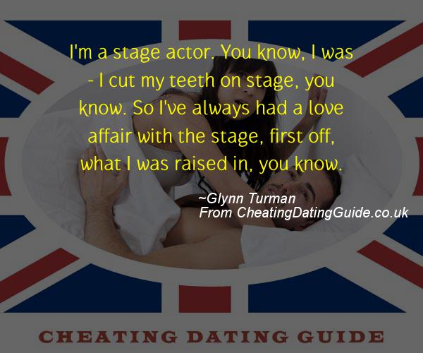 Cheating Quote - Glynn Turman - Cheating Stories quote image