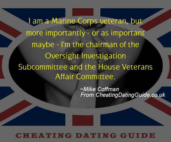 Cheating Quote - Mike Coffman - Cheating Stories quote image