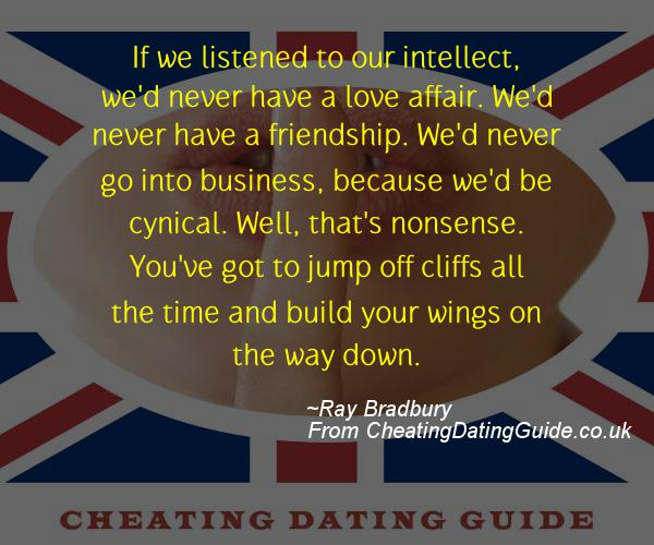 Cheating Quote - Ray Bradbury - Cheating Stories quote image