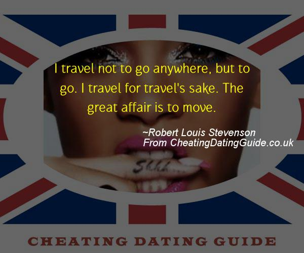 Cheating Quote - Robert Louis Stevenson - Cheating Stories quote image