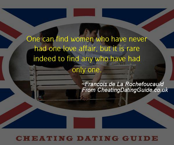Cheating Quote - Francois de La Rochefoucauld - Cheating Stories quote image