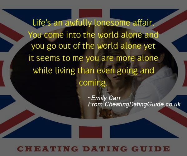 Cheating Quote - Emily Carr - Cheating Stories quote image