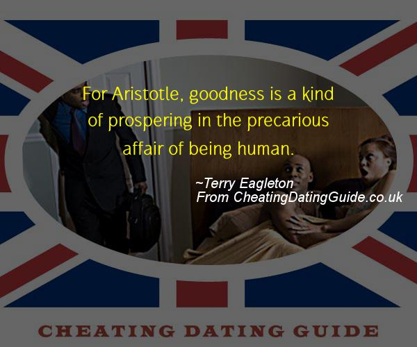Cheating Quote - Terry Eagleton - Cheating Stories quote image