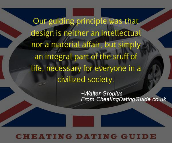 Cheating Quote - Walter Gropius - Cheating Stories quote image