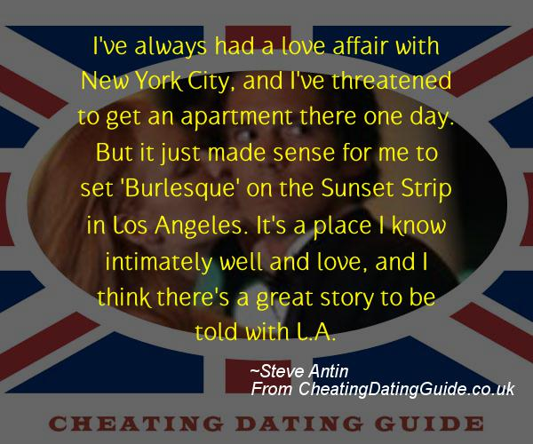Cheating Quote - Steve Antin - Cheating Stories quote image