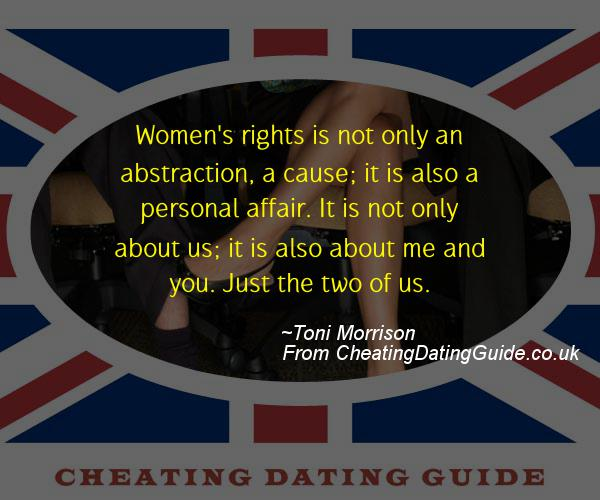 Cheating Quote - Toni Morrison - Cheating Stories quote image