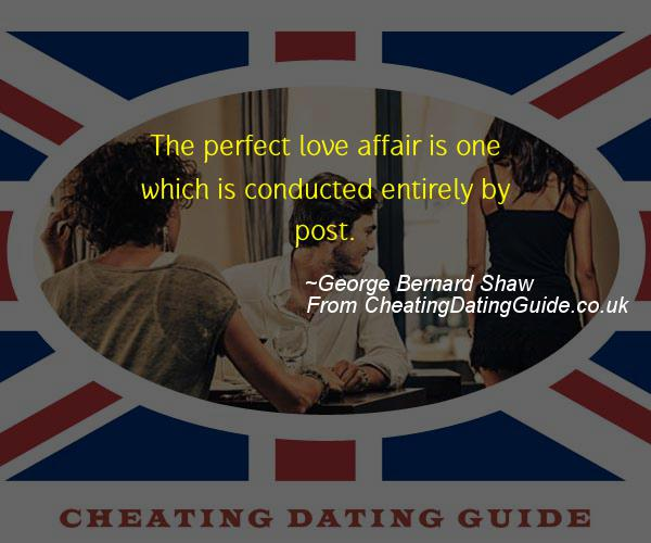 Cheating Quote - George Bernard Shaw - Cheating Stories quote image