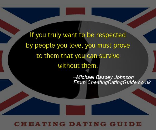 Cheating Quote - Michael Bassey Johnson - Cheating Stories quote image