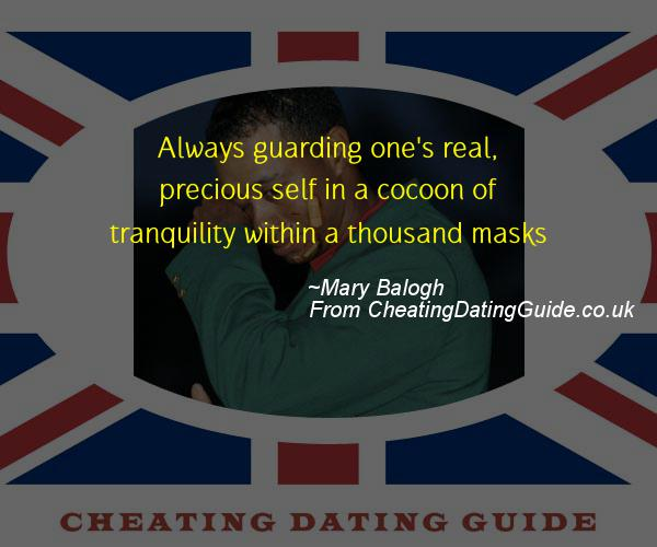 Cheating Quote - Mary Balogh - Cheating Stories quote image
