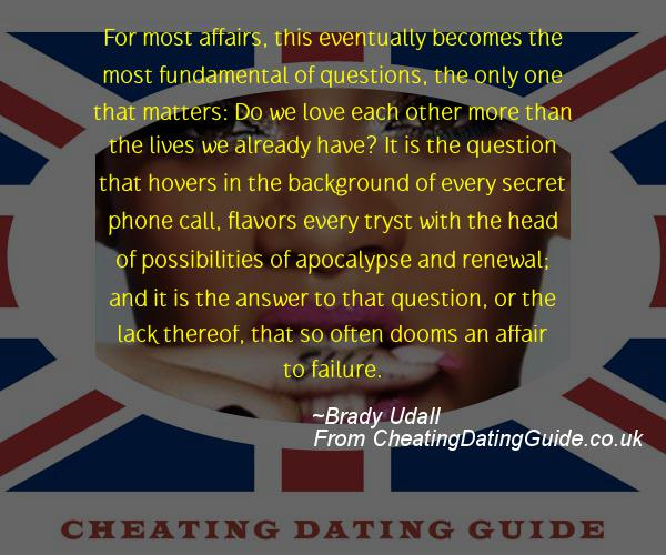 Cheating Quote - Brady Udall - Cheating Stories quote image