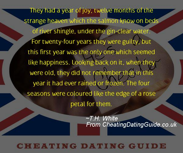 Cheating Quote - T.H. White - Cheating Stories quote image