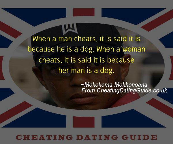 Cheating Quote - Mokokoma Mokhonoana - Cheating Stories quote image