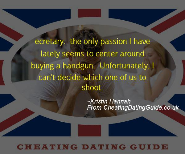 Cheating Quote - Kristin Hannah - Cheating Stories quote image