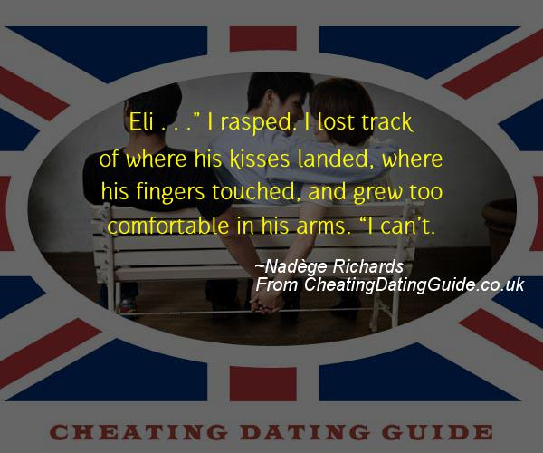 Cheating Quote - Nadege Richards - Cheating Stories quote image