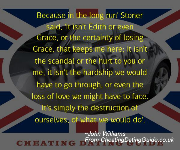 Cheating Quote - John Williams - Cheating Stories quote image