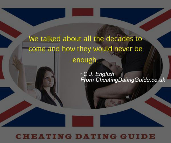 Cheating Quote - C.J. English - Cheating Stories quote image