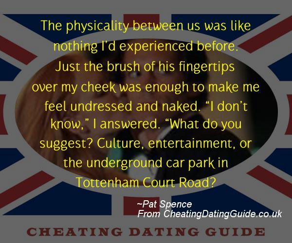 Cheating Quote - Pat Spence - Cheating Stories quote image
