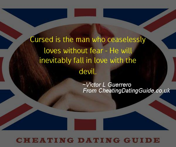 Cheating Quote - Victor L Guerrero - Cheating Stories quote image